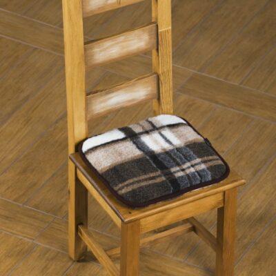 Schurwolle Sitzkissen 40cm x 40cm